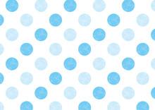 水玉パターン 青 2