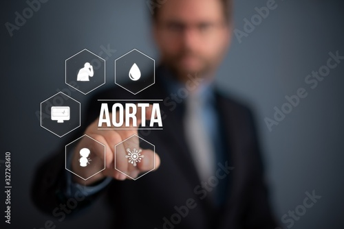 Aorta Canvas Print