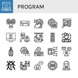 program icon set