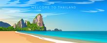 Thailand. Phuket Landscape. Wi...