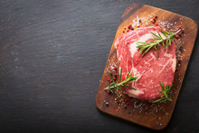 Fresh Meat With Rosemary And S...