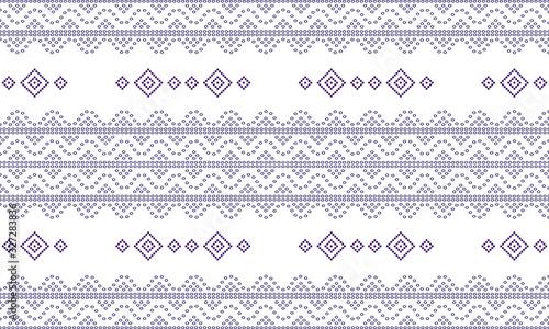 Photo Seamless geometric ornamental pattern background
