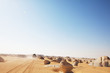 canvas print picture White desert in Egypt