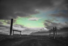 Aurora Borealis In Iceland Nor...