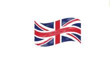 United Kingdom Waving Flag Pai...