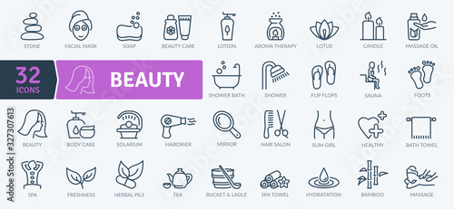 Photo Beauty Icons Pack