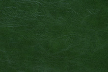 Dark Green Leather Abstract Background