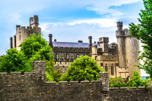 Arundel Castle In West Sussex,...