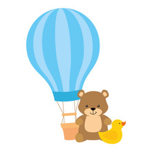 Balloon Travel Hot With Teddy ...