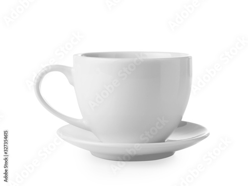 Photo Empty coffee or tea cup i