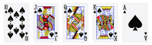 Spades Suit Playing Cards, Set...