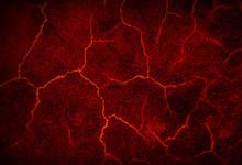 Molten Lava Texture Background.
