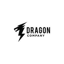Dragon Logo Icon Vector Illust...