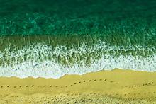Tropea Beach From The Terrace