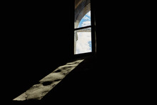 Temple Window And Sunlight