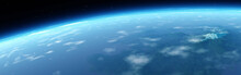 Panorama Of The Planet Earth F...