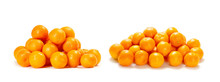 Tangerines Or Mandarins Isolat...