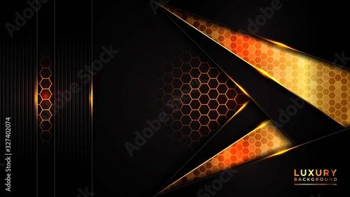 Abstract modern dark luxury background Fototapete