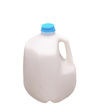 Plastic Gallon Milk Bottle Wit...