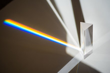 Transparent Prism For Light Ed...