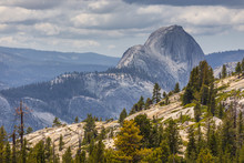 View Of The Half Dome From Olmsted Point.