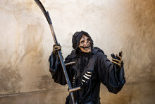 Message Of A Grim Reaper