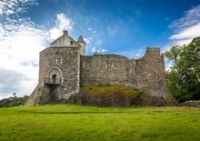 Dunstaffnage Castle In Oban, Scotland, UK
