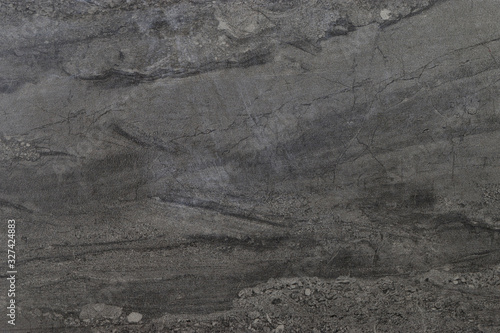 Closeup of weathered abstract gray marble background