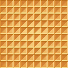 Wafer Seamless Pattern. Baked ...