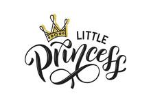 Little Princess Vector Isolate...
