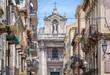 Our Lady of Mount Carmel Roman Catholic church in Catania city on Sicily Island and autonomous region of Italy