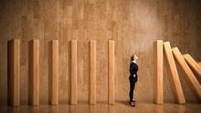 Businesswoman As A Stopper Bet...