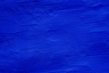 Blue Colored Abstract Wall Background With Textures Of Different Shades Of Blue