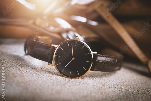 Obraz Isolate woman wristwatch - fototapety do salonu