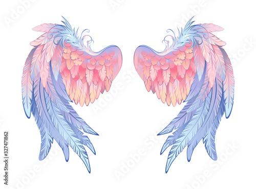 Delicate angel wings Tapéta, Fotótapéta