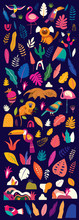 Vector Colorful Illustration W...