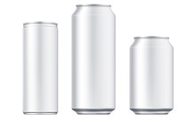 Vector Aluminium Beer And Slim...