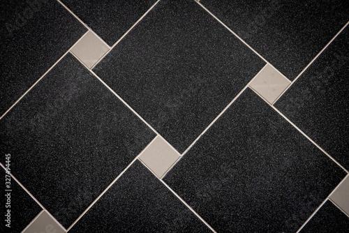Fototapety, obrazy: Ceramic tiles flooring - texture of natural ceramic floor