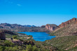 A gorgeous view of the natural landscape in Apache Junction, Arizona