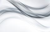 Moda srebrno-biała tekstura. Fale streszczenie tło dekoracji. - 327500681