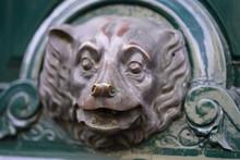Detail Of Bear Head Front Door Opener