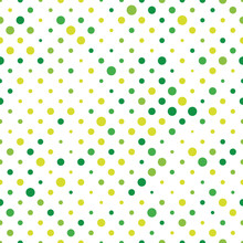 Seamless Polka Dot Pattern. Gr...