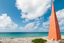 Orange Obelisk At The Caribbea...