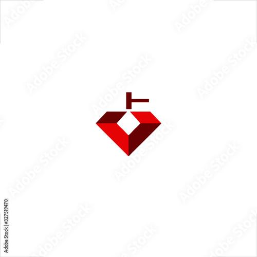 Photo diamond logo forgery design fuller