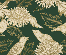 Seamless Pattern In Chinese St...