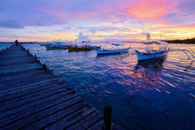 Beautiful Colorful Sunset On T...