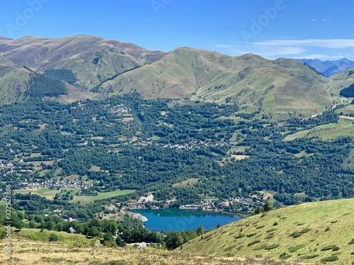 paysage magnifique Loudenvielle -Genos Canvas Print