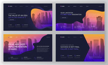 Landing Page Templates Set For...