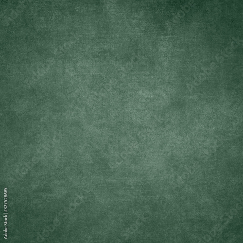 Green designed grunge texture. Vintage background with space for text or image Fototapete