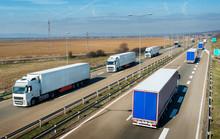 Convoys Of Transportation Truc...